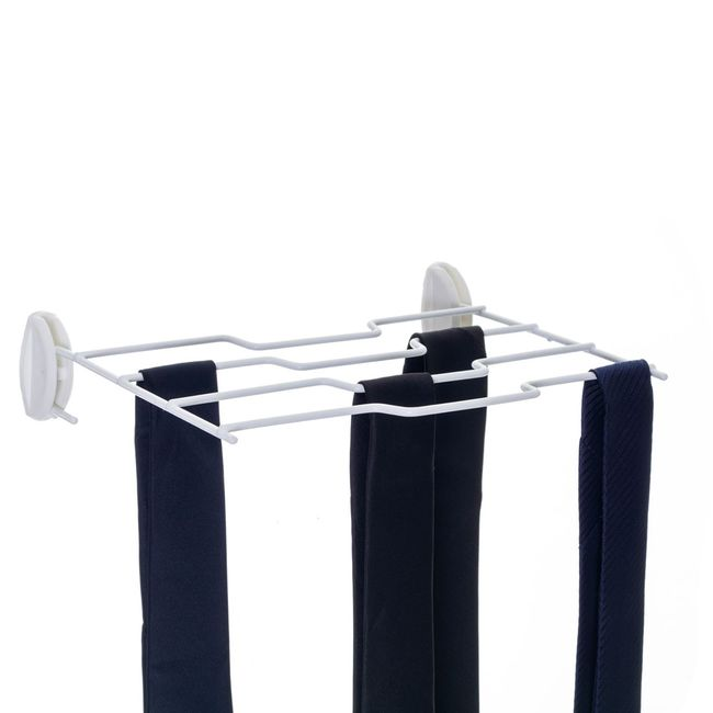 Organizador-de-gravatas-dobravel-de-parede