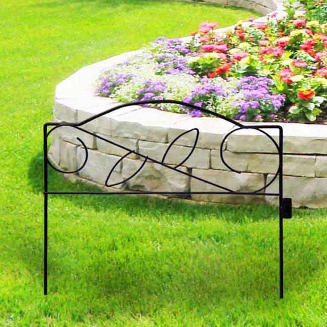 Cerca-decorativa-para-Jardim-em-aramado