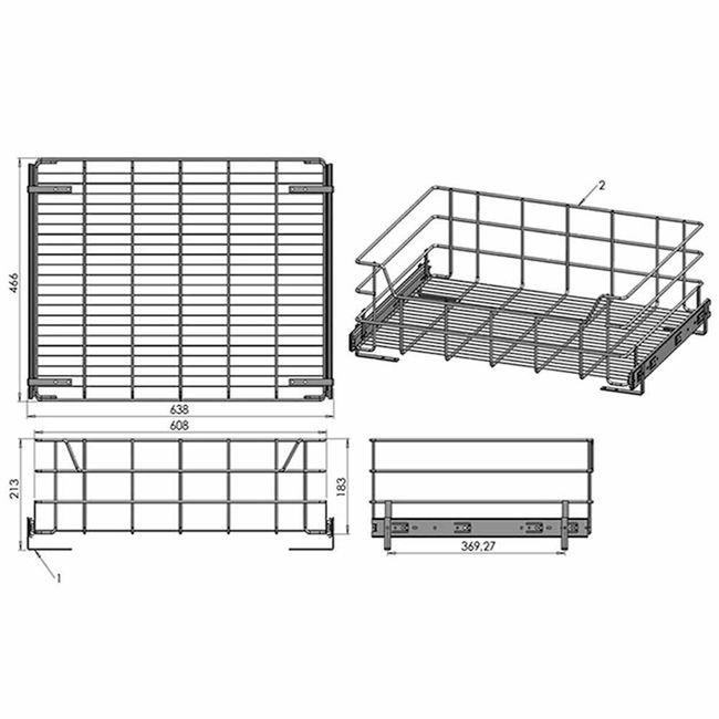 Gaveta-638-cm-para-panelas-e-alimentos-deslizante-em-aramado