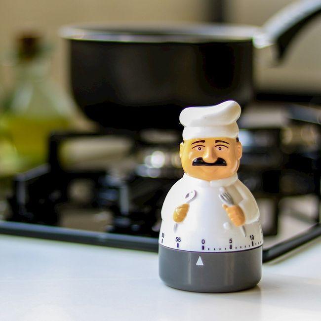 Timer-para-Cozinha-Chef
