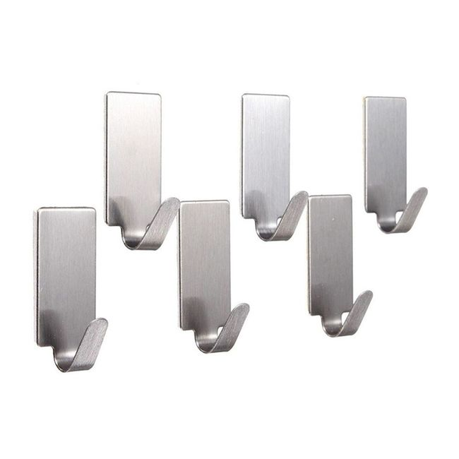 Kit-com-6-ganchos-adesivos-retangulares-aco-Inox
