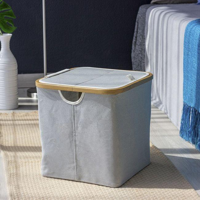 Cesto-Organizador-Thai-quadrado-com-tampa-desmontavel-em-tecido-com-bambu