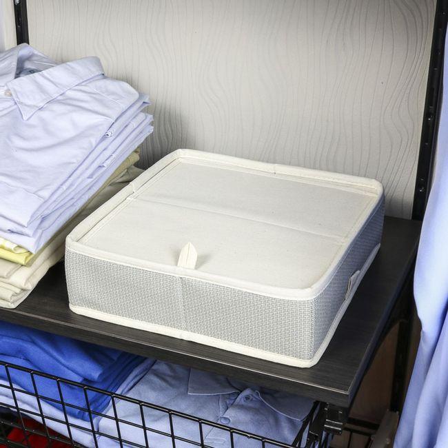 Cesto-Organizador-Thai-para-gavetas-com-divisorias-tampa-desmontavel-em-tecido
