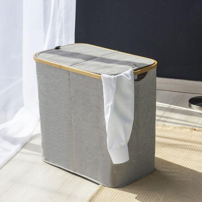 Cesto-Organizador-Thai-duplo--em-tecido-com-bambu