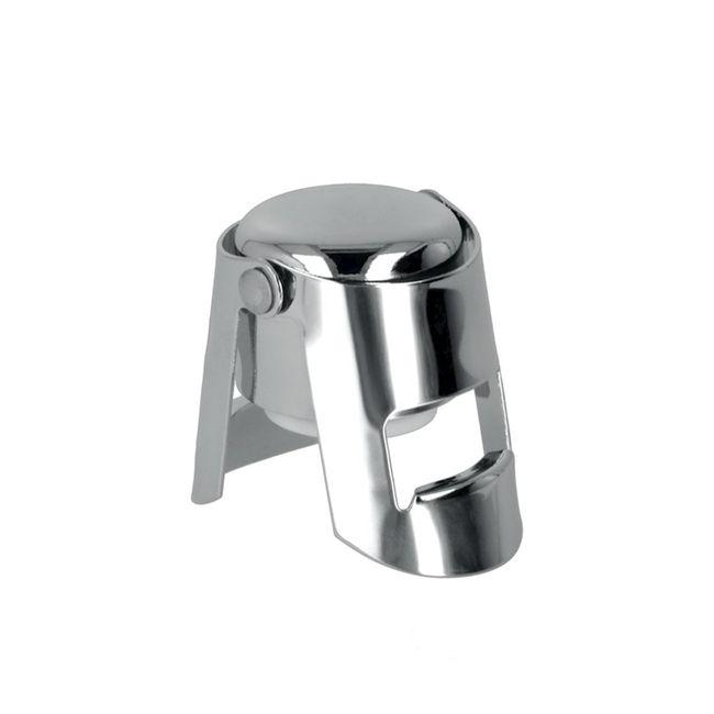 Rolha-Reutilizavel-para-Espumantes-Aco-Inox---Metalic