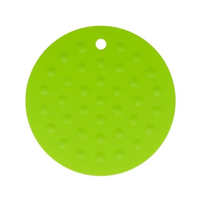 Descanso-de-Panela-em-Silicone---Redondo---Verde