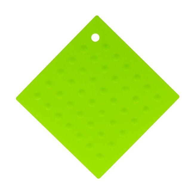 Descanso-de-Panela-em-Silicone---Quadrado---Verde