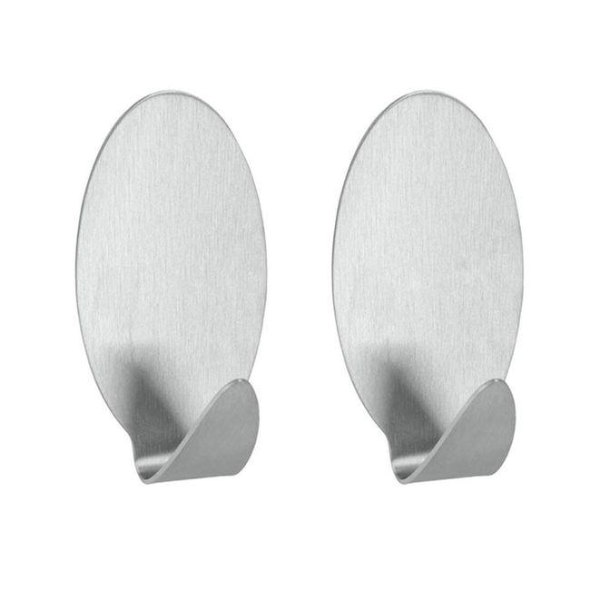 Conjunto-com-2-Ganchos-multiuso-adesivos-em-aco-Inox---Metalic