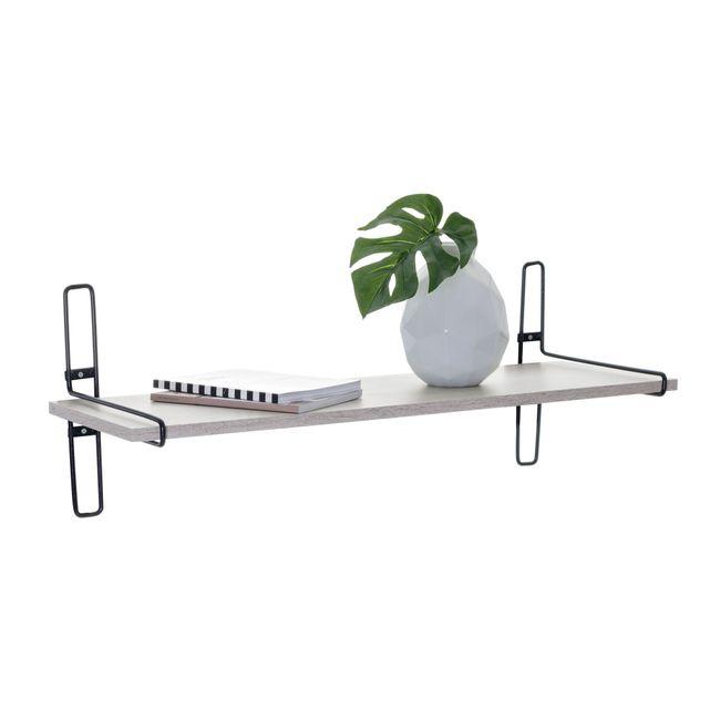 Prateleira-Decorativa-Para-ambientes-Pequena-Aramado-com-madeira-Charming