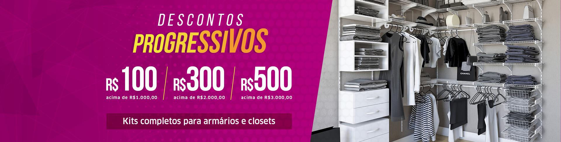 Armários e Closets