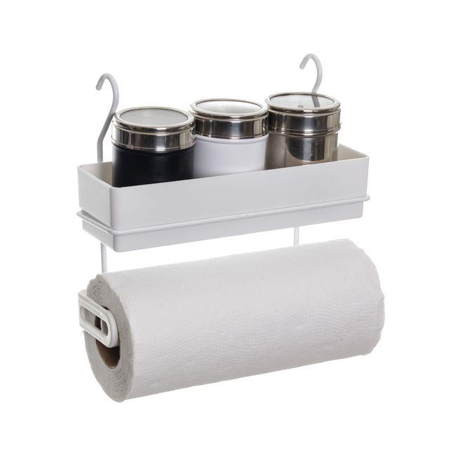 Porta-condimentos-e-rolos-para-parede---Linha-Cook-Premium---Nao-acompanha-barra
