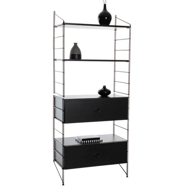 Kit-estante-aramada-com-gaveteiro-duplo-Connect