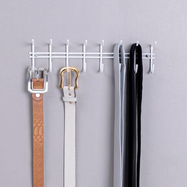 Organizador-de-cintos-e-gravatas-aramado-para-parede