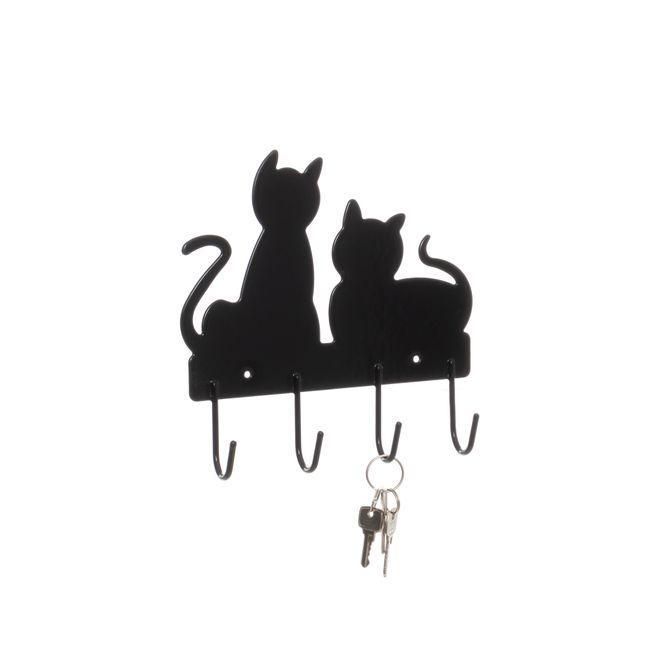 Gancho-de-parede-aramado-Gato