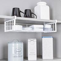 Cozinha - Cestos para prateleira de armário